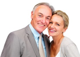 happy mature couple over 50 One of the patterns couples often adopt is ...